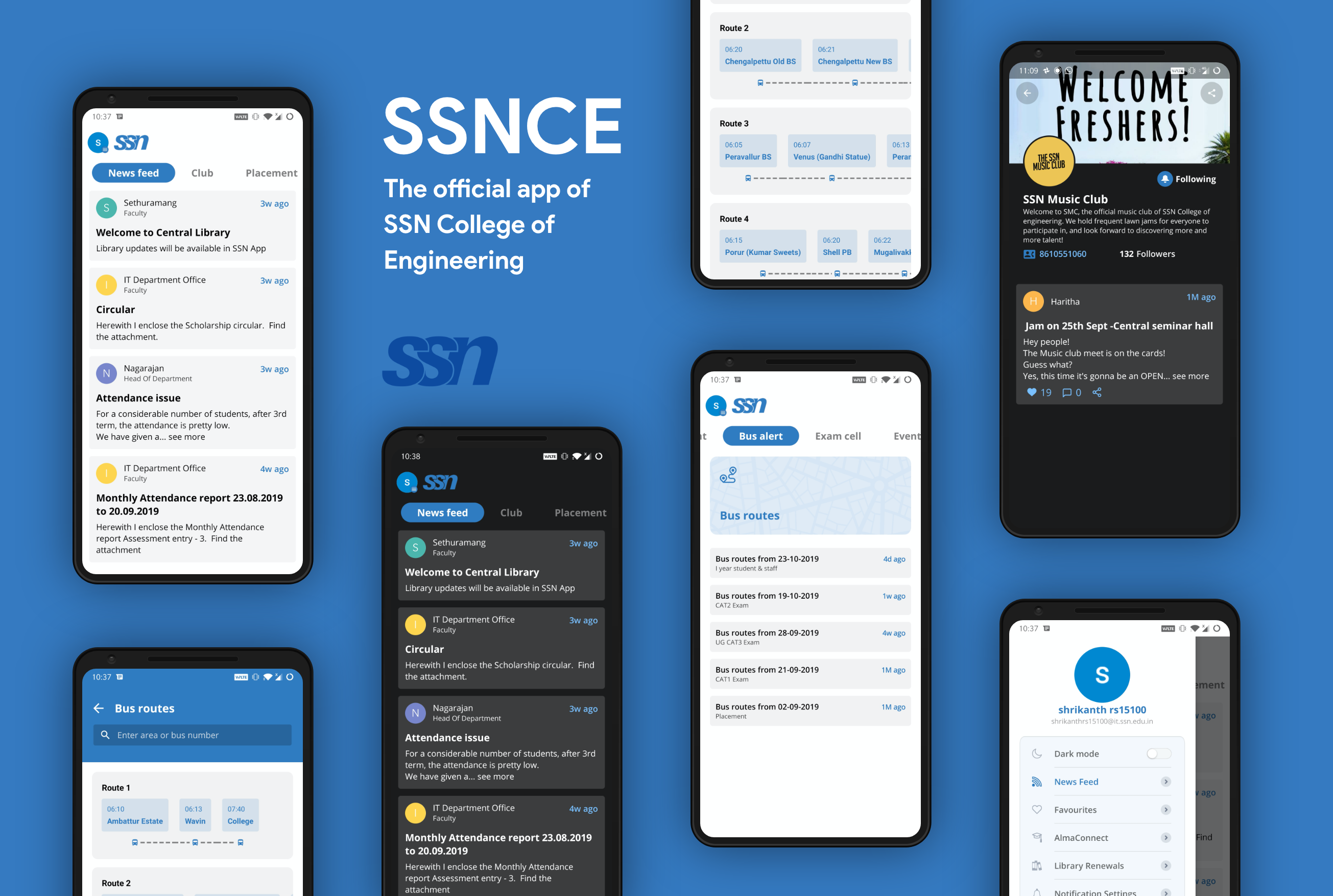 Android App for SSN College